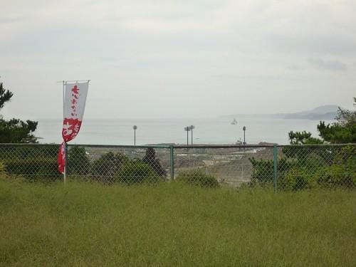 長砂仮設団地(高田高校第二グラウンド), 陸前高田市高田町でボランティア, 「手を貸すぜ 東北」レーベン号 Volunteer at Rikuzentakata, Iwate pref. Deeply Affected Area by the Tsunami of Japan Earthquake