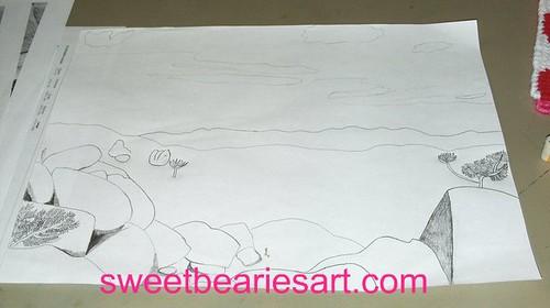 Adding To My Desert Drawing