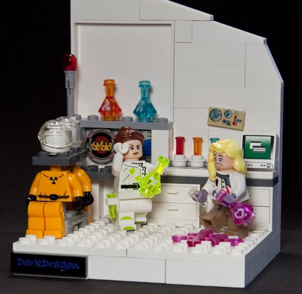 LEGO People in Science Lab