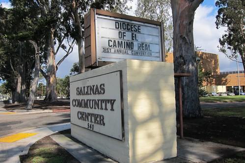 El Camino Real Convention Sign Salinas