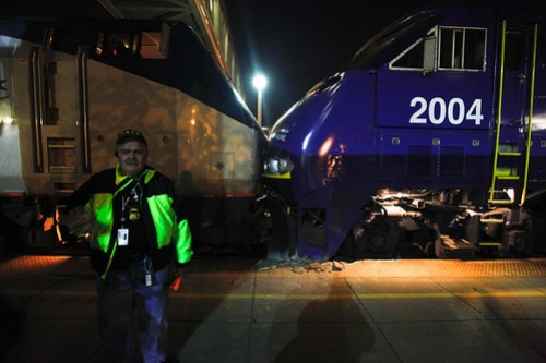 Amtrak collision Oakland