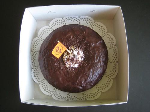 Baking an Ecofabulous chocolate-beetroot pie