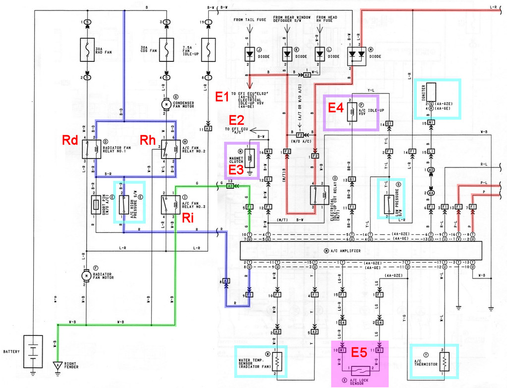 toyota mr2 wiring diagram 2 switch ceiling fan 20v blacktop and a c air conditioning owners club