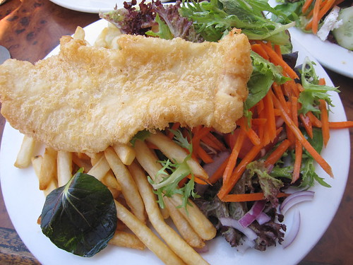 Fish and chips@Paris Seafood Cafe