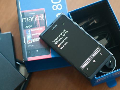 Lumia800 unboxing
