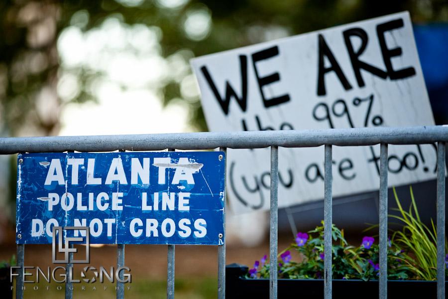 Last Days of Occupy Atlanta in Woodruff Park #OccupyAtlanta