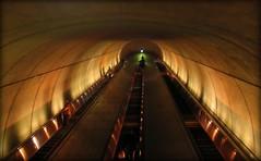 Escalator  Subway- Going up