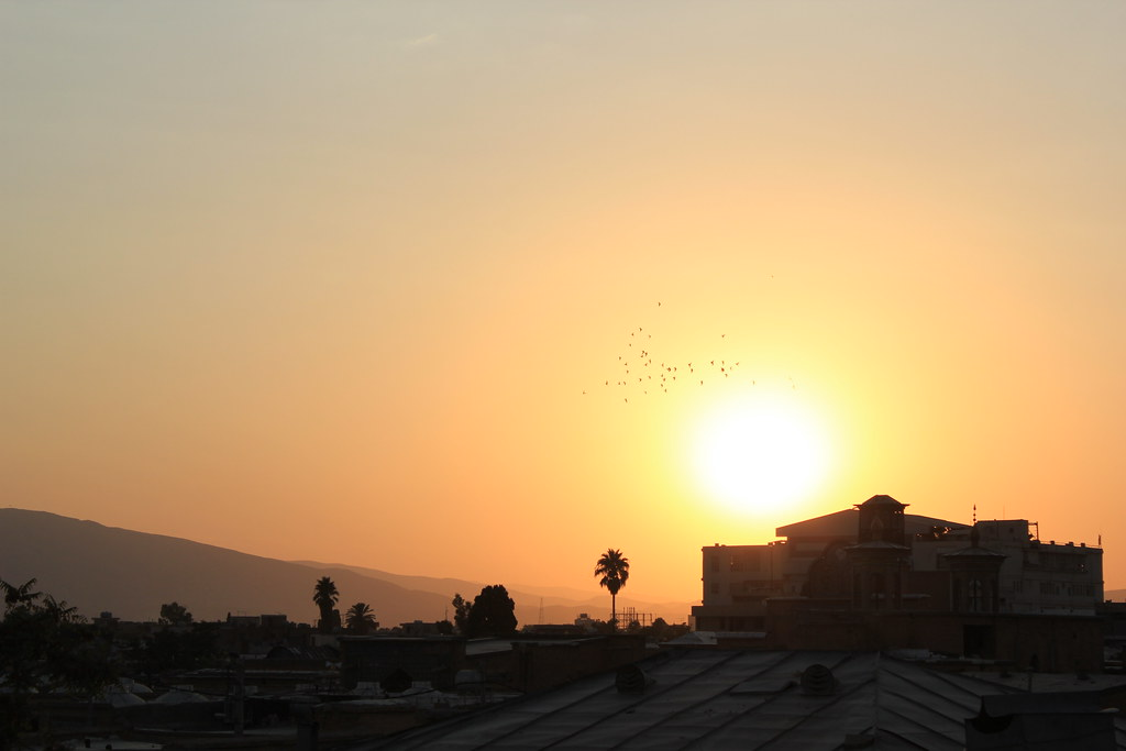 Sunset in Shiraz