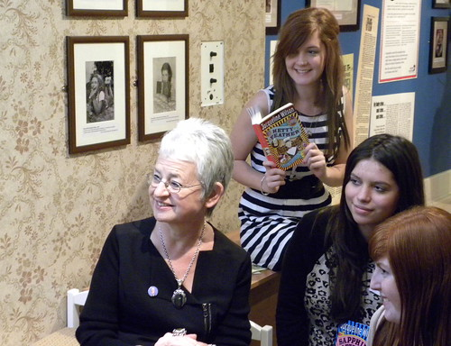Launch of Jacqueline Wilson exhibition at Seven Stories