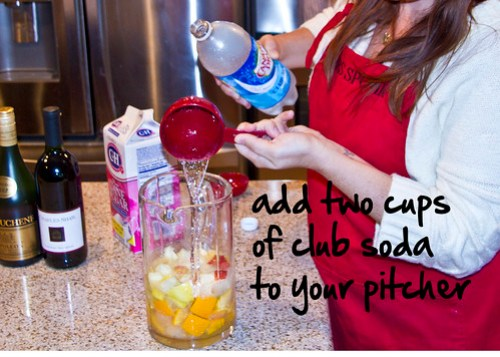 add club soda