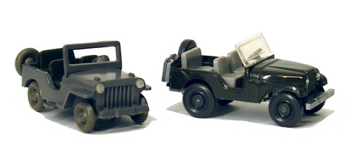 Wiking Willys Jeep