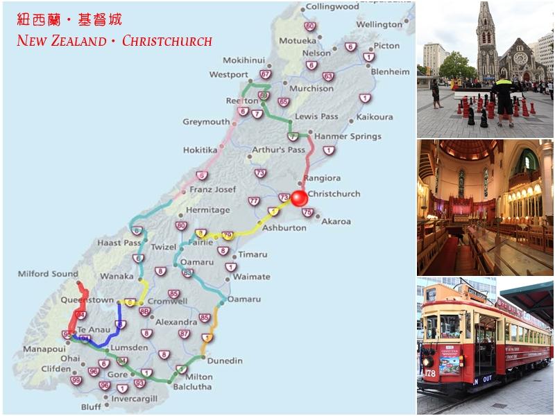 map of Christchurch