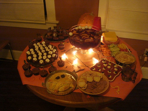 Halloween spread!