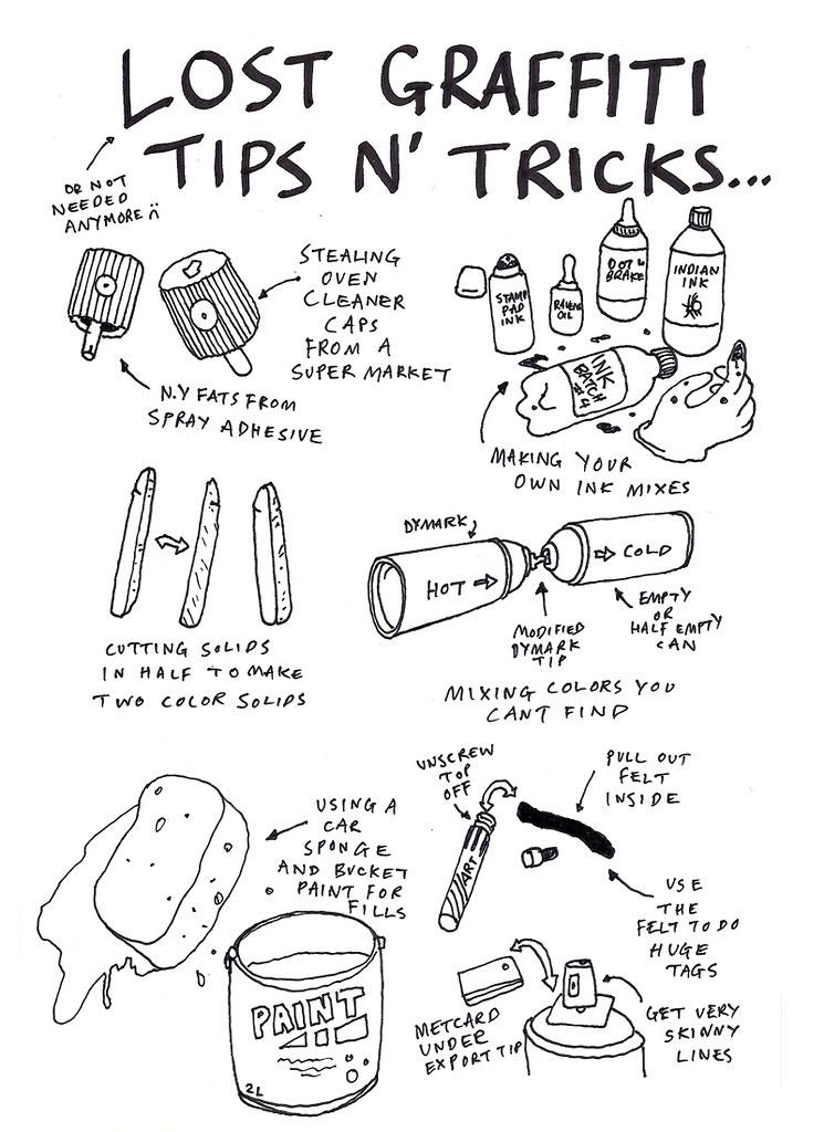 Lost graffiti tips n' tricks...