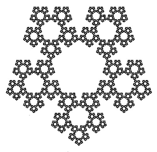 Chaotic Pentagonal Fractal (PHI)