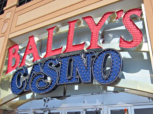 bally visits his casino