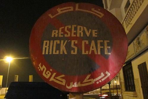 Rick's Cafe Casablanca Morocco