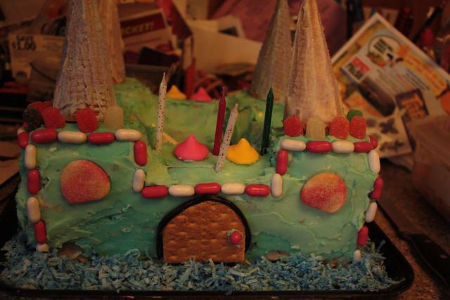 The castle cake