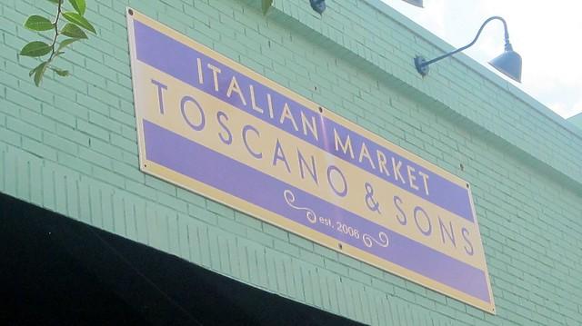 toscano & sons signage