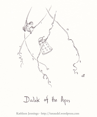 Dalek of the Apes.