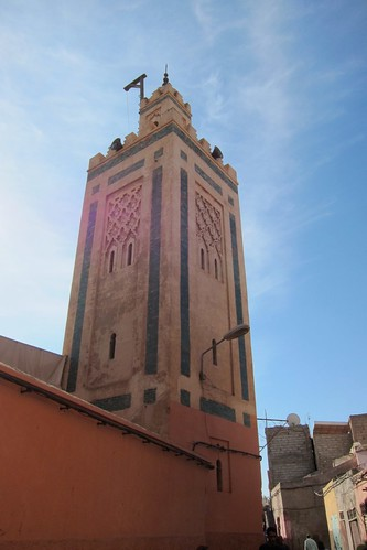 Marrakech Morocco mosque