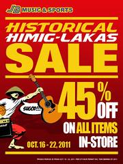 JB Music sale