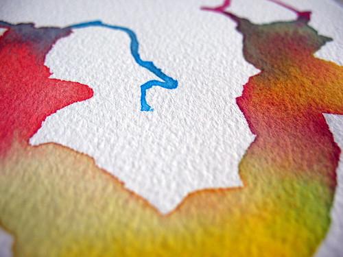 Cold pressed watercolor paper