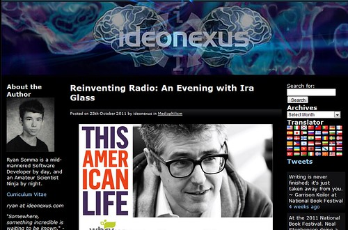 Ideonexus  on Ira Glass