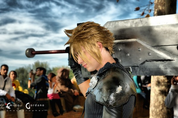 Cloud cosplay