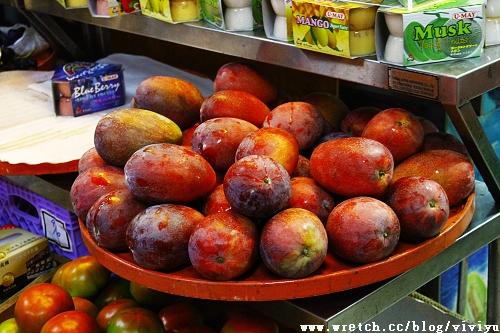 [美食.台南]裕成水果店~值得再訪芒果牛奶冰! @VIVIYU小世界
