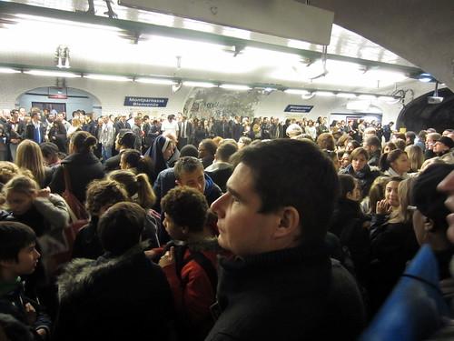 Nov 8 So many Parisians! by sophiefrenchgrl