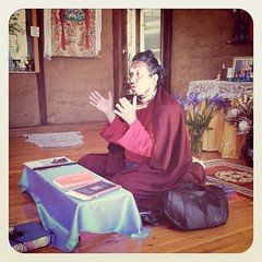Lama Rigzin at Vajra Ling - July 2011