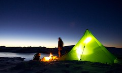 """LOCUS GEAR Khafra Sil pyramid shelter • <a style=""""font-size:0.8em;"""" href=""""http://www.flickr.com/photos/49406825@N04/6276217997/"""" target=""""_blank"""">View on Flickr</a>"""