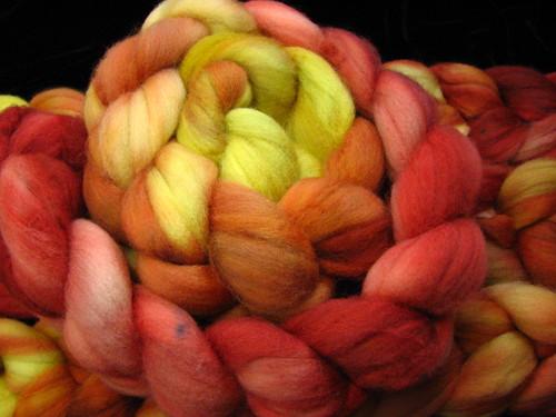 Autumn Blaze - Superwash Merino Wool