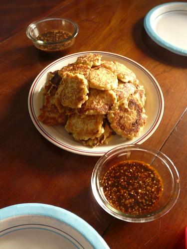 Kimchi Potato Pancakes - 김치 감자 전