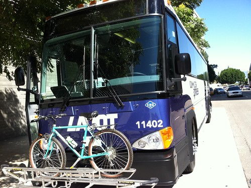 New Commuter Express buses feature triple racks!