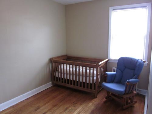 Crib! Assembled!
