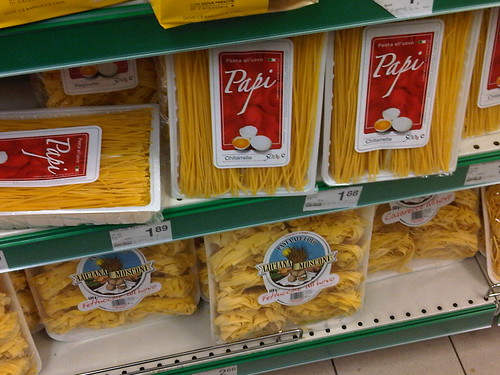 Pasta Papi, per l'italiano d'oggi