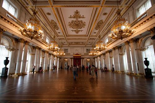 Interior del Hermitage