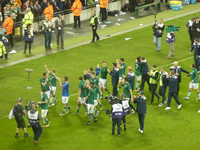 Ireland -v- Estonia