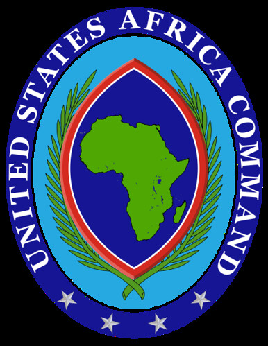 AFRICOM emblem. It is unclear if deployed forces will fall under AFRICOM command.