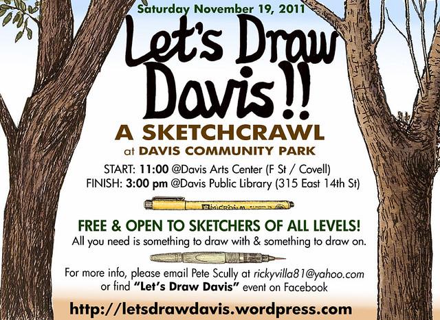 let's draw davis community park