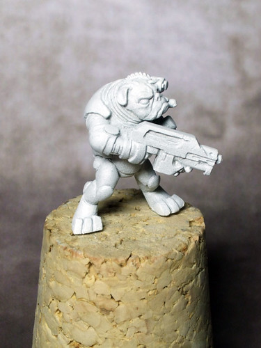 Space Pug, Undercoated
