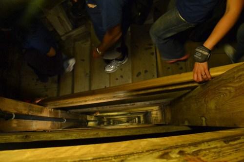 Escaleras minas de sal