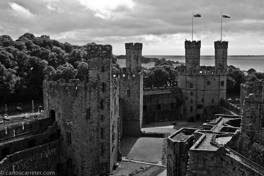 Castillo normando en Caernarfon