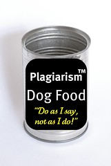 Plagiarism brand Dog Food