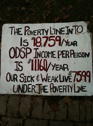 The Poverty Line in Toronto