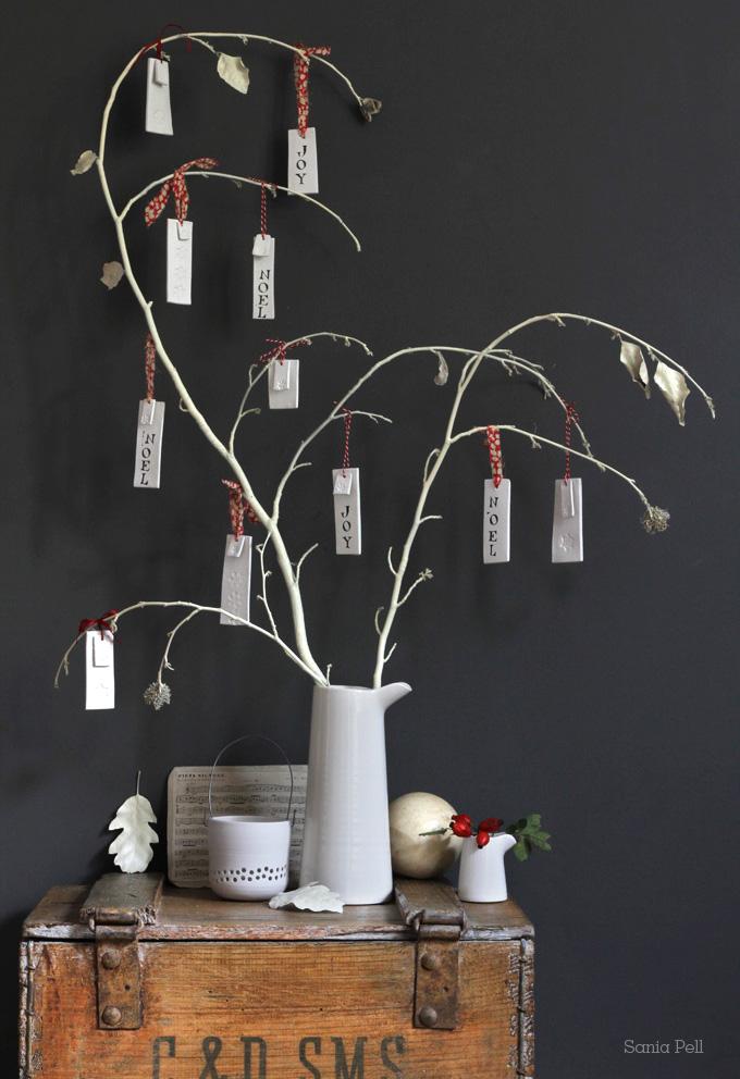 arbre voeux argile