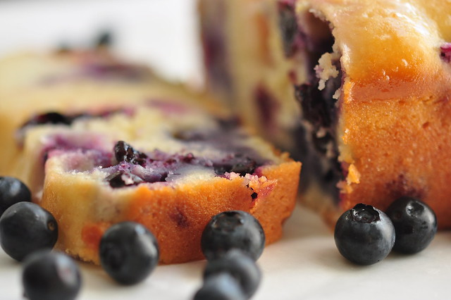 Lemon-blueberry Loaf