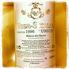 Vega-Sicilia 1996 Unico